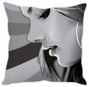 Stybuzz Girl In Grey Cushion Cover