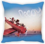 Stybuzz Kids In Plane Cushion Cover