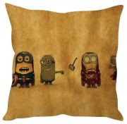 Stybuzz Minions In Marvel Brown Cushion Cover