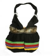 Estoss MEST1402 Black Ethnic Ethnic Bag