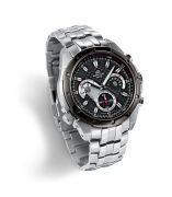 Imported Casio 535sp 1av Black Dial Chronograph Watch For Men