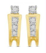 0.32 Cts Real Natural Diamond Bali In 14 Kt Gold