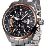Imported Casio 501d 1a5vdf Black/copper Dial Chronograph Watch For Men
