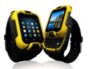 Dual Sim Watch Mobile With Bluetooth Headset