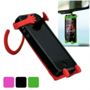 Flexible Silicone Cell Phone Holder Smartphone Holder Man People Shape