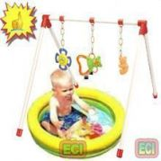Baby Gym & Intex Inflatable Baby Water Pool