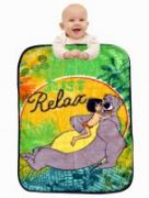 Disney Sparkk Home Exclusive Just Relax Printed Baby Blanket
