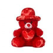 Lovable Special Gift Red 1.5 Feet Cap Teddy Bear - ( Code - Mntd06 )