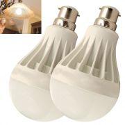 Set Of 2pcs 5w High Power Led Bulb For Pure, White, Cool, Safe Light - 07