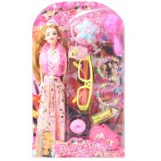 Barbie Doll Set With Beautiful Trendy Dresses Kids Toys Toy Baby Gift - 94