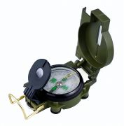 3 In 1 Military Hiking Camping Lens Lensatic Magnetic Compass - 01