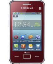 Samsung Rex 80 S5222R Mobile Phone (red Color)
