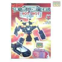 2pcs Hot Shot Transformers Car Transforms To Robot
