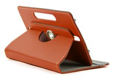 Domo Book Cover For 7 Inch Tablet Pc (Brown)