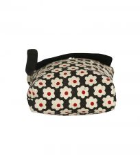 Pick Pocket Black And Red Canvas Mobile Pouch