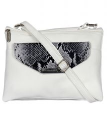 ESBEDA White Color Graphic Print Women's Slingbag