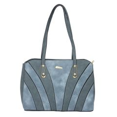 ESBEDA Blue Color Pu Synthetic Handbag For Women's Blue (Product Code - 1633)   Blue