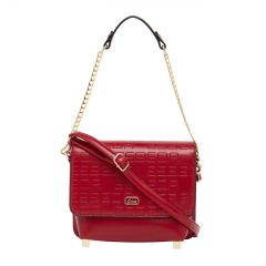 ESBEDA Pu Synthetic Red Slingbag For Womens_1681