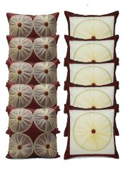 Stybuzz Embroidery Cushion Cover Set Of 10 - SCTEN00015