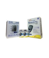 Dr. Morepen Dr Morepen Glucose Monitor Bg-03 And 25 Strips With Citizen Ch-650 Wrist Digital Blood Pressure Monitor