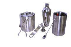Dynamic Store Stainless Steel 7 Pcs Bar Set  - Medium - DS_69