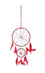 FashBlush Wool Windchime  (19 Inch, Red, White)