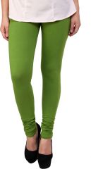Sassily Cotton Lycra Legging For Women - (Code - Cotton Lycra Legging For Women -Cotton_Lycra-Neon_Green_p)