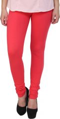 Sassily Cotton Lycra Legging For Women - (Code - Cotton Lycra Legging For Women -Cotton_Lycra-Burnt_Orange_p)