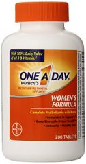 """One-A-Day Women""""s Multivitamin, 200-Count Bottles (Pack Of 2)"""