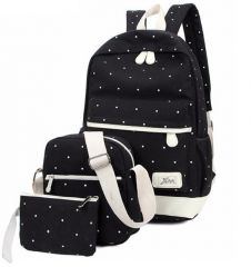 Aeoss Women School Backpack College Wind Women's Backpack Canvas Fashion Backpacks