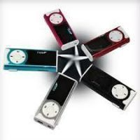 Digital Clip On MP3 Player With LCD Display Inbuilt Speaker & LED Torch