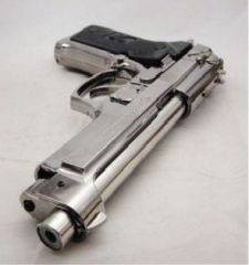 Nau Nidh Big Size 9 Inch Cigar Cigarette Lighter Gun Pistol