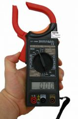 Digital Clamp Meter LCD Acdc Voltage Electricity Ampere Measuring Instrument