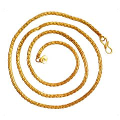 Men Style New Design Dual Tone  Gold And White Alloy Snake Chain Or Necklace