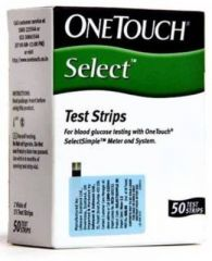 Johnson & Johnson One Touch-Select Simple 100's Test Strips Glucometer