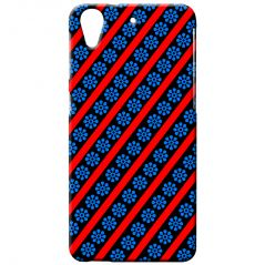 DDF Printed Back Case For HTC Desire 626S Blue-Red Design (Product Code - PrH3803)