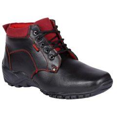 Bachini Half Ankle Boot For Men-(Code-1527-Black)