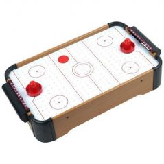Mini Table Top Air Hockey - Comes With Everything You Need