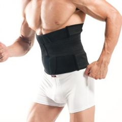 M-3XL Big Size 2016 Black White Corset For Men Mesh Breathable Belt For Weightlifting Body Fit Belly Slimming Hot Shapers Male