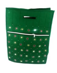 Irin Handcrafted Green Cotton Shopping Bag