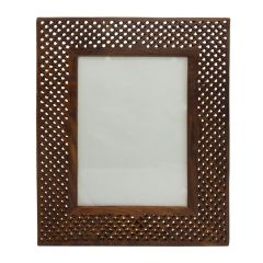 HANDMADE WOODEN PHOTO FRAME 10 X 8 INCHES