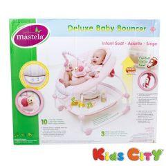 Mastela Deluxe Baby Bouncer - 6907 (Pink)