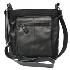 Chanter Designer Genuine Leather  Black Sling Bag - BBL671