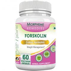 Morpheme Forskolin - 20% Coleus Forskohlii & Energy - 500mg Extract 60 Veg Caps