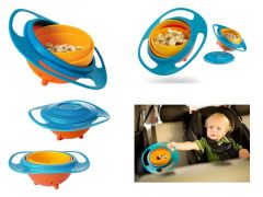 Children Kid Baby Toy Universal 360 Degree Rotate Spill Proof Gyro Bowl Dishes