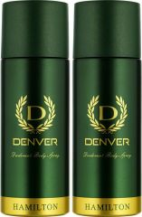 Denver Hamilton Deo Combo (Pack Of 2) Body Spray - For Men (150 Ml)
