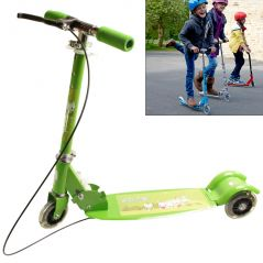 3 Wheeler Push Foldable Scooter Kick Board Kids Toys With Light - N38
