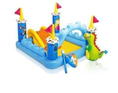 """Intex Fantasy Castle Inflatable Play Center, 73"""" X 60"""" X 42"""", For Ages 2  By Intex"""