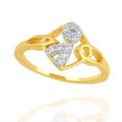 Shuddhi Beautiful And Sparkling Diamond Ring SH18YPR11427X For Women