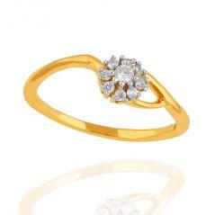 Shuddhi Beautiful And Sparkling Diamond Ring SH14YPR20692XJK For Women